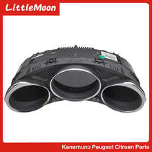 LittleMoon Automotive electronic instrument assembly Display High-performance display instrument for Citroen C4 C4L B7 composxb electronic price display pos vfd customer display for restaurant