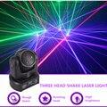 Sharelife Mini 3 Kopf RGB Shark Moving Strahl DMX Netzwerk Laser Licht Professional Home Gig Party DJ Bühnen Beleuchtung Sound auto 3 H