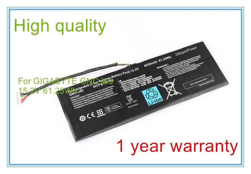 15.2V 4030mAh 61.25Wh Laptop Battery GNC-J40 961TA013F For P34W P34K P34F P34G V2 V3 V4 V5 V7 Series gnc 300mg 100