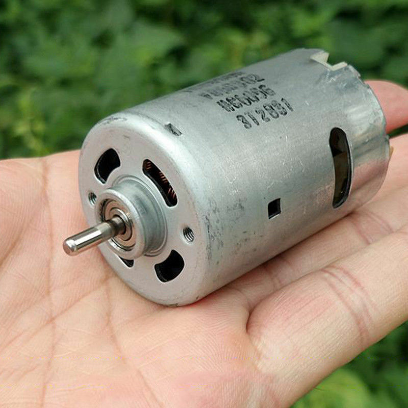 JOHNSON RS-545 DC 6V 9V 12V 18V 23800RPM High Speed Carbon Brush Micro Mini DC Motor Large Torque DIY Toy Electric Drill Model