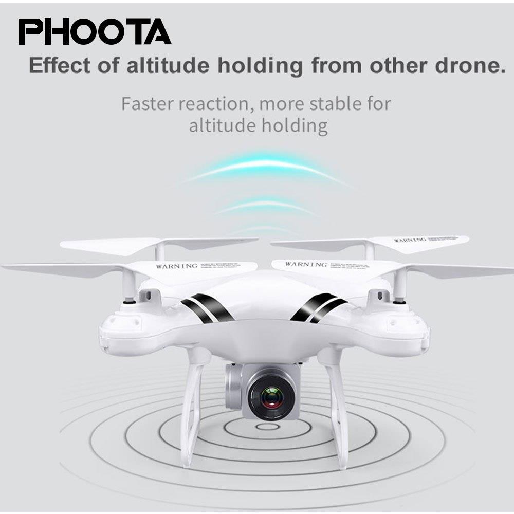 RC Drone Wifi FPV HD Cámara ajustable 0.3MP/5MP 1080 p/480 p altitud mantener una tecla retorno sin cabeza Quadcopter juguete
