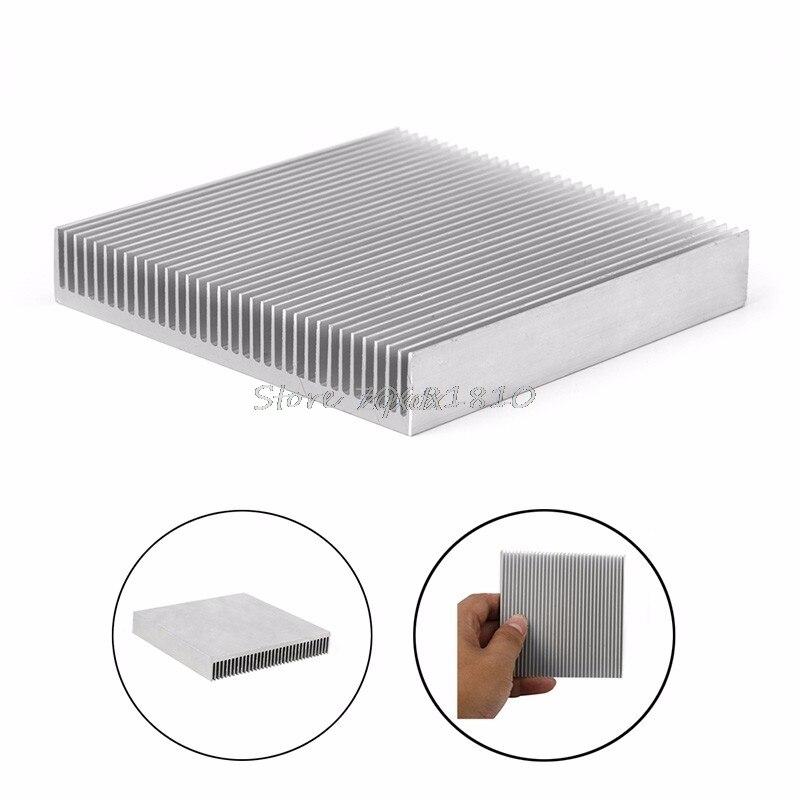 1 шт. алюминиевый радиатор радиатора для IC светодиодный электронный чипсет тепла оптовая продажа и Прямая поставка radiator heatsink heat sinkaluminum heat sink   АлиЭкспресс