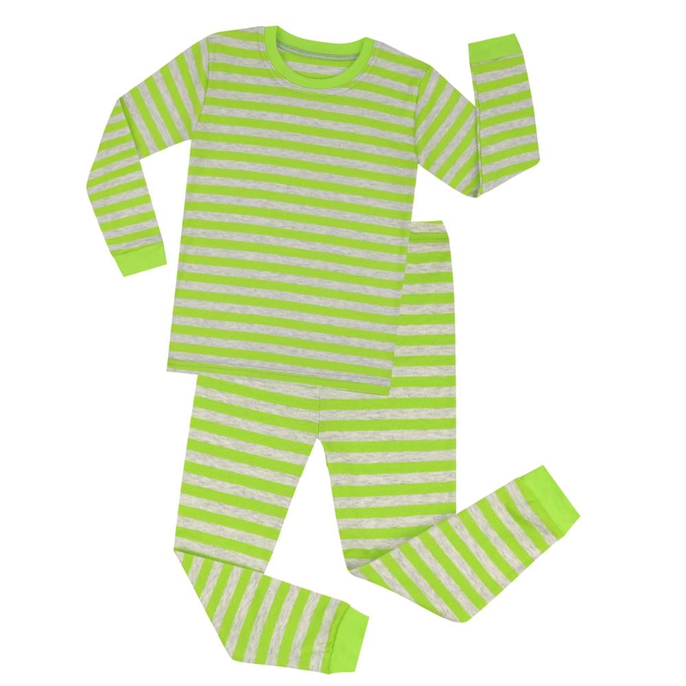 4f4dbcba6ceb Aliexpress.com   Buy Striped Pajamas Sets for Boys Girls Christmas ...