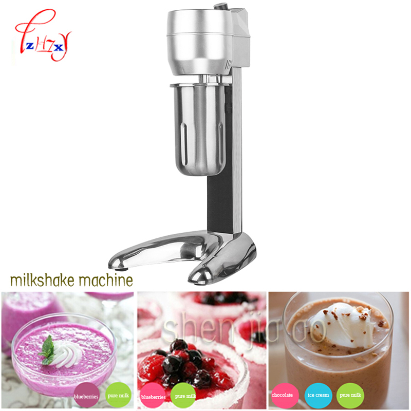 Milk Shake Machine Milkshaker Stainless Steel Blender Mixing Machine Drink Mixing with Double Cups 2200 rpm /min K-01 1pc milk shake maker stainless steel milkshaker stirring machine beverage mixing blender with double cups zf