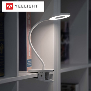 Image 2 - Yeelight LED Clip Lamp Clip On Night Light USB Rechargeable 5W 360 Degrees Dimming Reading Lamp For Bedroom