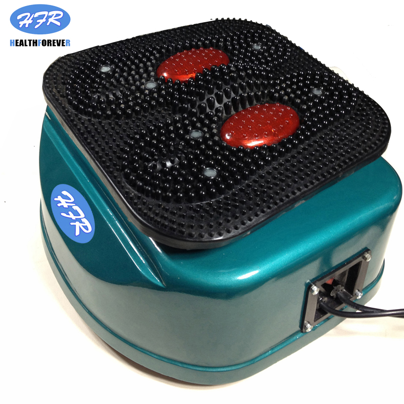 Image 3 - HFR 8805 1 HealthForever Brand Remote Control Vibrating Device Legs Full Body Electric Foot Blood Circulation Massage Machine-in Massage & Relaxation from Beauty & Health