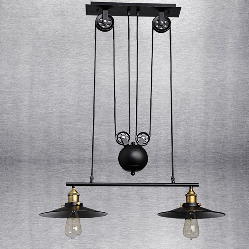 Popular Pulley Pendant Light-Buy Cheap Pulley Pendant