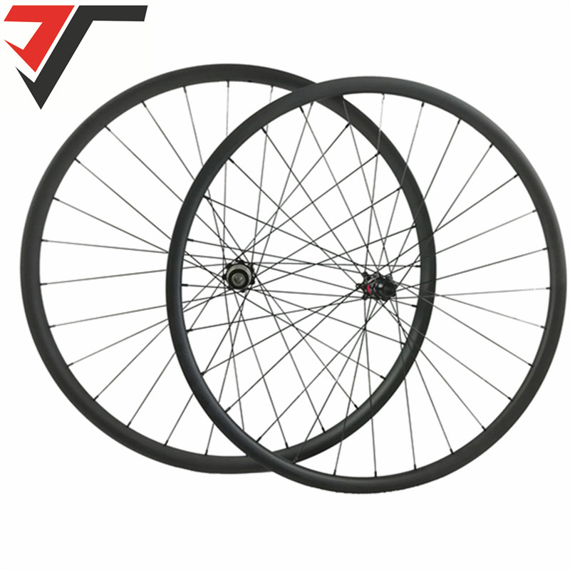 TRIPS Disc Brake carbon road wheels 35 38 45 50mm Carbon Clincher tubeless Cyclocross Wheels 25mm