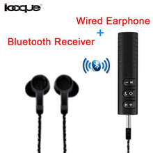 Bluetooth Receiver Audio Music Wired Earphone In Ear Turn to Wireless, Bluetooth Adapter Aux for Headphones Earphone Speaker