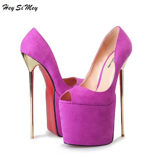 Sandals Women Peep Toe Platform 9.5cm Sexy nightclub 22cm Catwalk Shows Sandals Nightclub Bottom High heels Plus-size 40-50Sandals Women Peep Toe Platform 9.5cm Sexy nightclub 22cm Catwalk Shows Sandals Nightclub Bottom High heels Plus-size 40-50