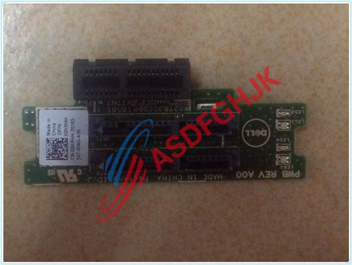 Original FOR Dell FOR POWEREDGE M420 HARD DRIVE BACKPLANE 1.8 INCH 2 BAY FOR PCI-E X1  02KRHH 2KRHH 100% work perfectly 532481 001 532481 001 sas hard drive backplane for dl160g6 320g6 8 2 5 original 95%new well tested working one year warranty