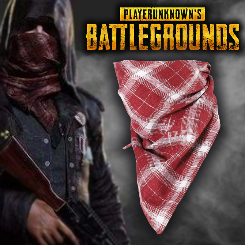 Cosrea Game PUBG Cosplay Costume CS Sniper Jedi Survival Hunting Scarf Scarves Mask Kerchief Facecloth Chicken Adult Man Woman