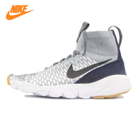 NIKE AIR FOOTSCAPE MAGISTA FLYKNIT Men's Running Shoes , Outdoor Sneakers Shoes, Gray Green, Breathable 816560 001 816560 300