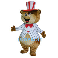 Huge Teddy Mascot Costumes Brown Bear Costumes Free Shipping