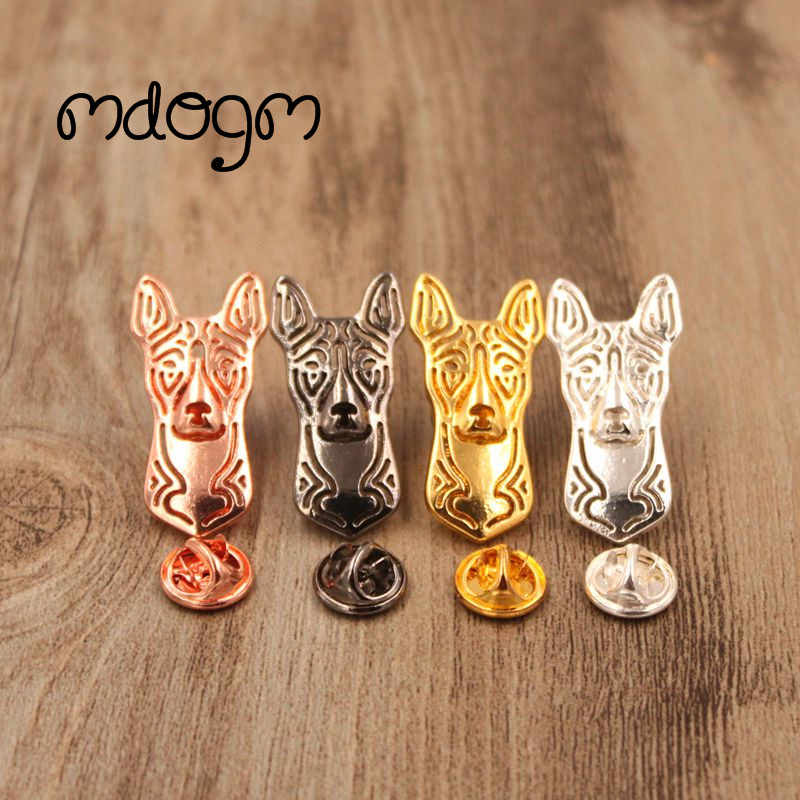 Mdogm 2019 Basenji Brooches And Pins  Suit Cute Jewelry Funny Metal Small Father Collar Badges Gift For Male Men B101