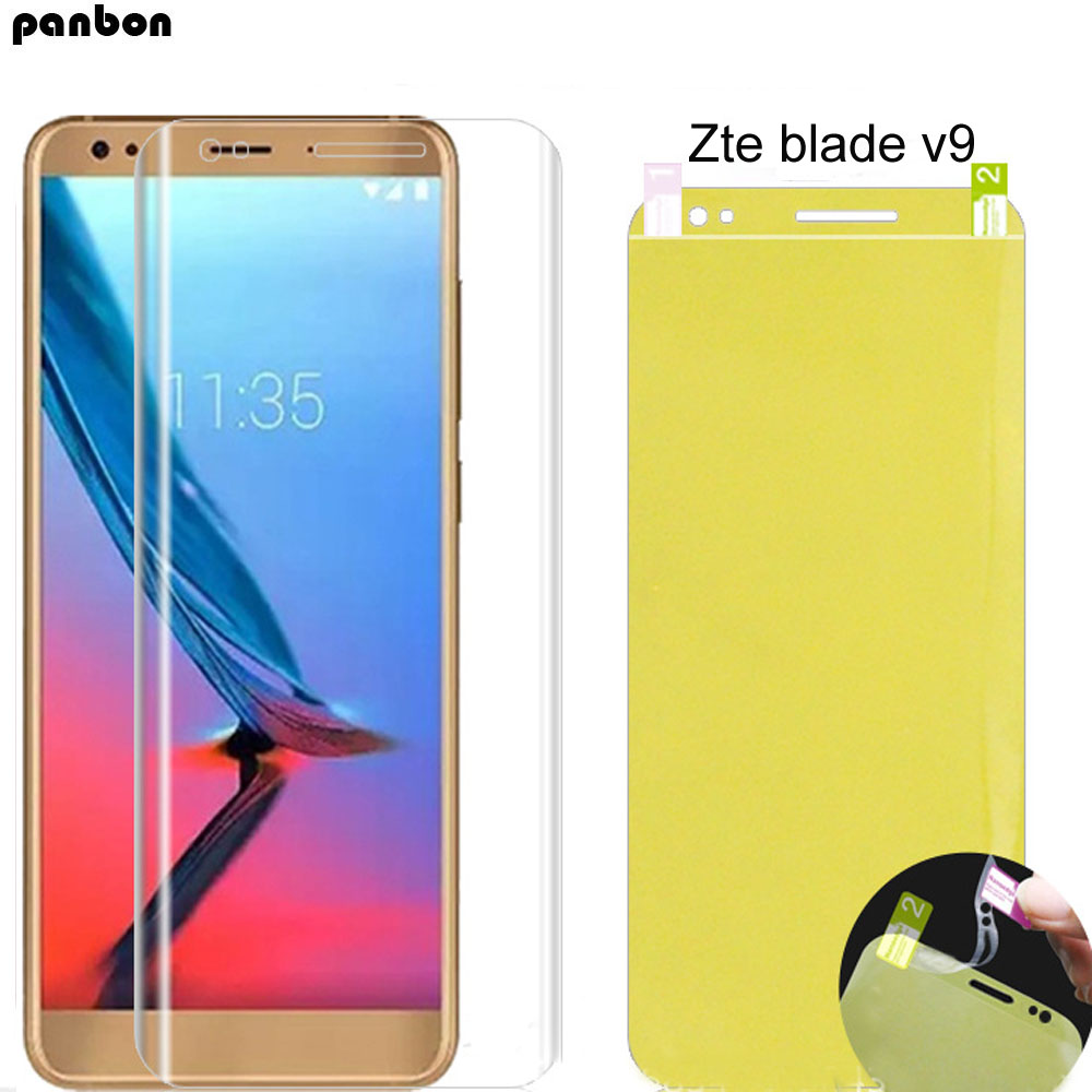3D Soft Nano Explosion-proof Front Film For Zte V9 Ultra Thin Screen Protecter For ZTE Blade V9 Hydrogel Film Cover (not Glass)