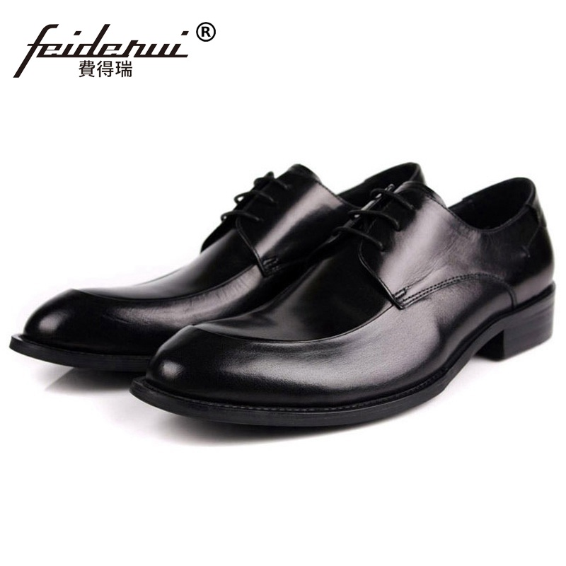 2017 Formal Man Derby Dress Shoes Genuine Leather Designer Oxfords Luxury Brand Comfortable Mens Handmade Footwear HD232017 Formal Man Derby Dress Shoes Genuine Leather Designer Oxfords Luxury Brand Comfortable Mens Handmade Footwear HD23