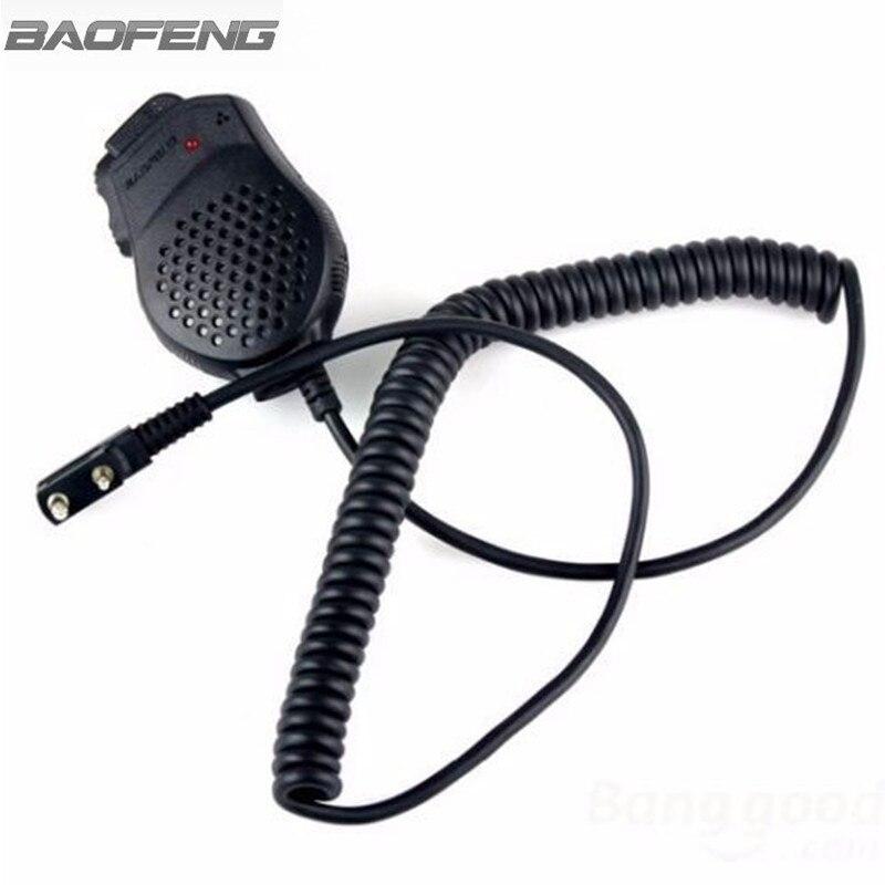 Baofeng Speaker Mic Handheld Microphone Small For Kenwood BAOFENG UV-82 Walkie Talkie Radio