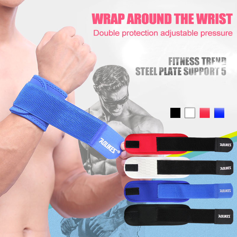 Basketball Bracers Badminton Wrist Support Weightlifting Bracers Men Weightlifting Horizontal Bar Supplies Elbow Support Strap