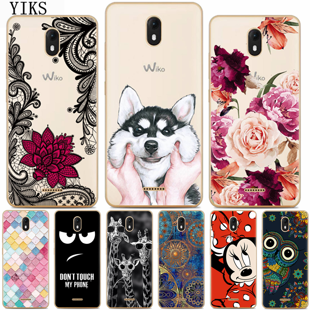 For Coque Wiko View Go Case 5.7inch Luxury Cartoon TPU Case For fundas Wiko view go Soft Silicone Phone Protective Back Cover