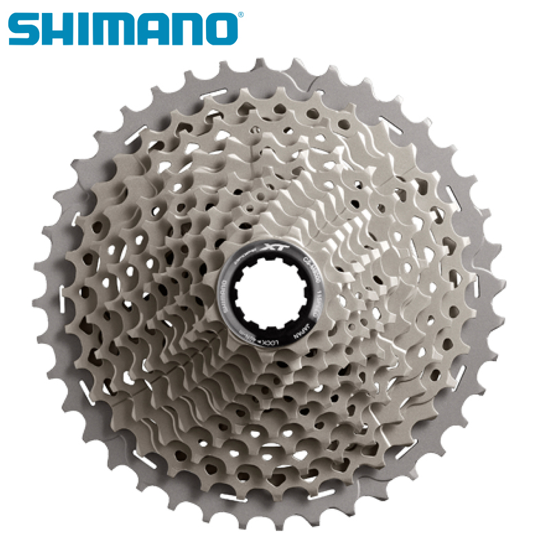 SHIMANO CS M8000 DEORE XT 11S Speeds Bicycle Freewheel 11-40T 11-42T 11-46T MTB Bicycle Mountain Bike Cassette Freewheel цена