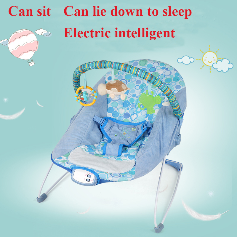 Baby rocking chair placarders newborn chair cradle bed vibration multifunctional baby chaise lounge 2017 new babyruler portable baby cradle newborn light music rocking chair kid game swing