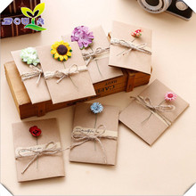 Buy general birthday cards and get free shipping on aliexpress diy retro handmade creative greeting cards envelopes dry m4hsunfo