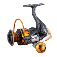 12+1BB Metal Handle Fishing Reel Drag Carp Fish Spinning Wheel Freshwater Spool Tool ALS88
