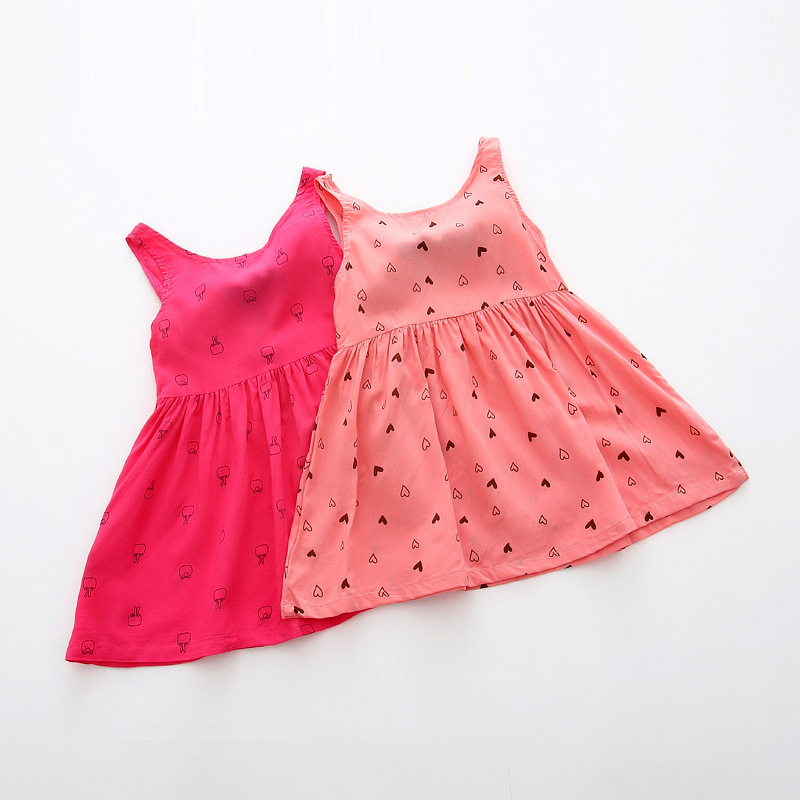 93dace9c8146 Detail Feedback Questions about INS Children Baby Girls Dress 2018 ...