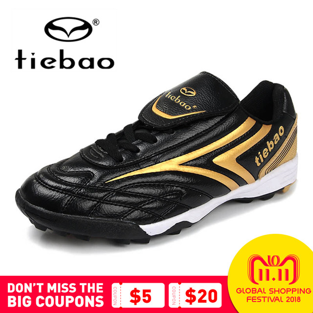 TIEBAO Unisex Outdoor Sports Football Shoes TF Turf Rubber Sole Zapatos De  Futbol Training Shoes Sport Adult Soccer Shoes 797c8e56ed731