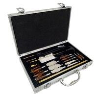4.5/5.5/6.35/7.62/16/12 tubo kit de limpeza brusher profissional Conjunto De Limpeza Arma Arma escova Ferramenta de Caça Acessórios