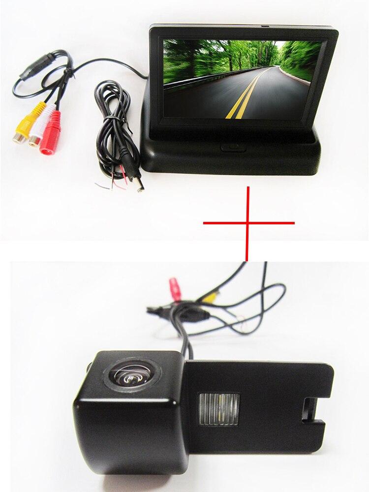 Цвет CCD вид сзади автомобиля Камера для Holden Commodore Holden/Commodore VY VZ ve1, с 4.3 inch Складная ЖК-дисплей TFT Мониторы