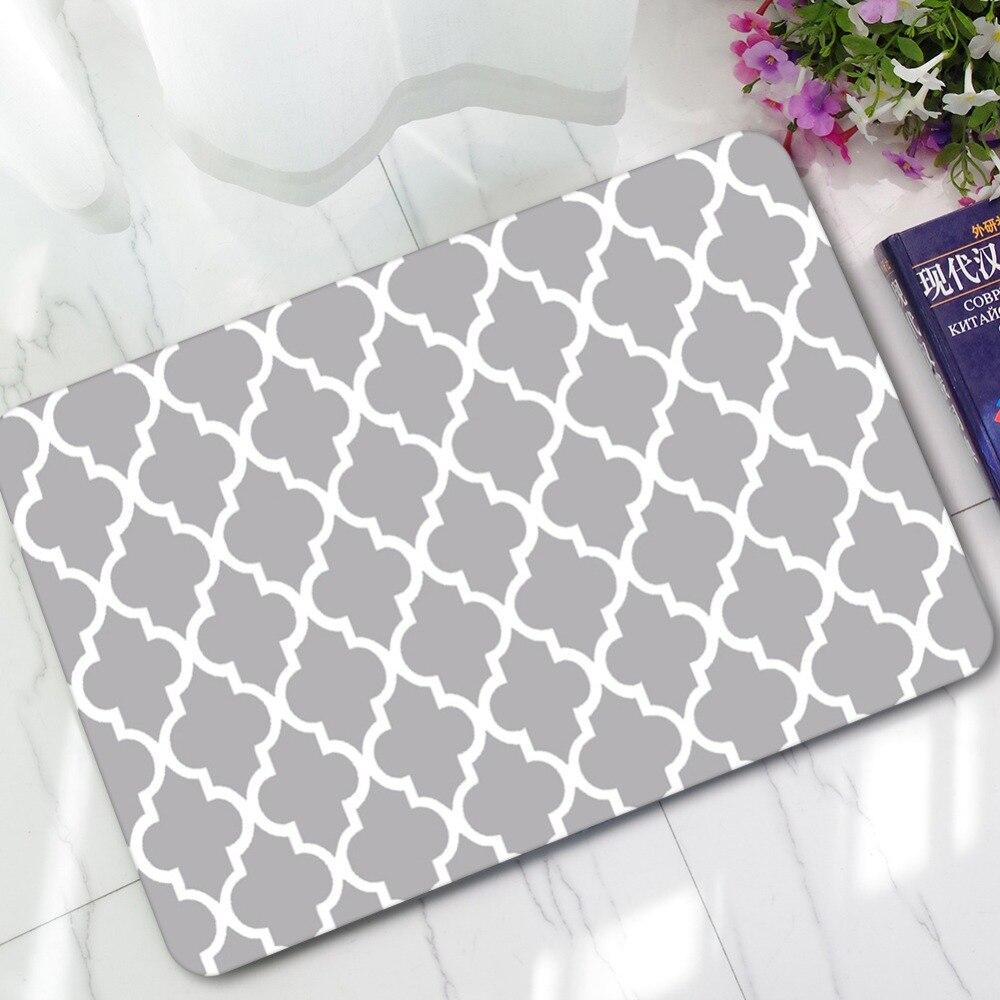 Rubber Non Slip Kitchen Floor Mat Bathroom Bedroom Carpet