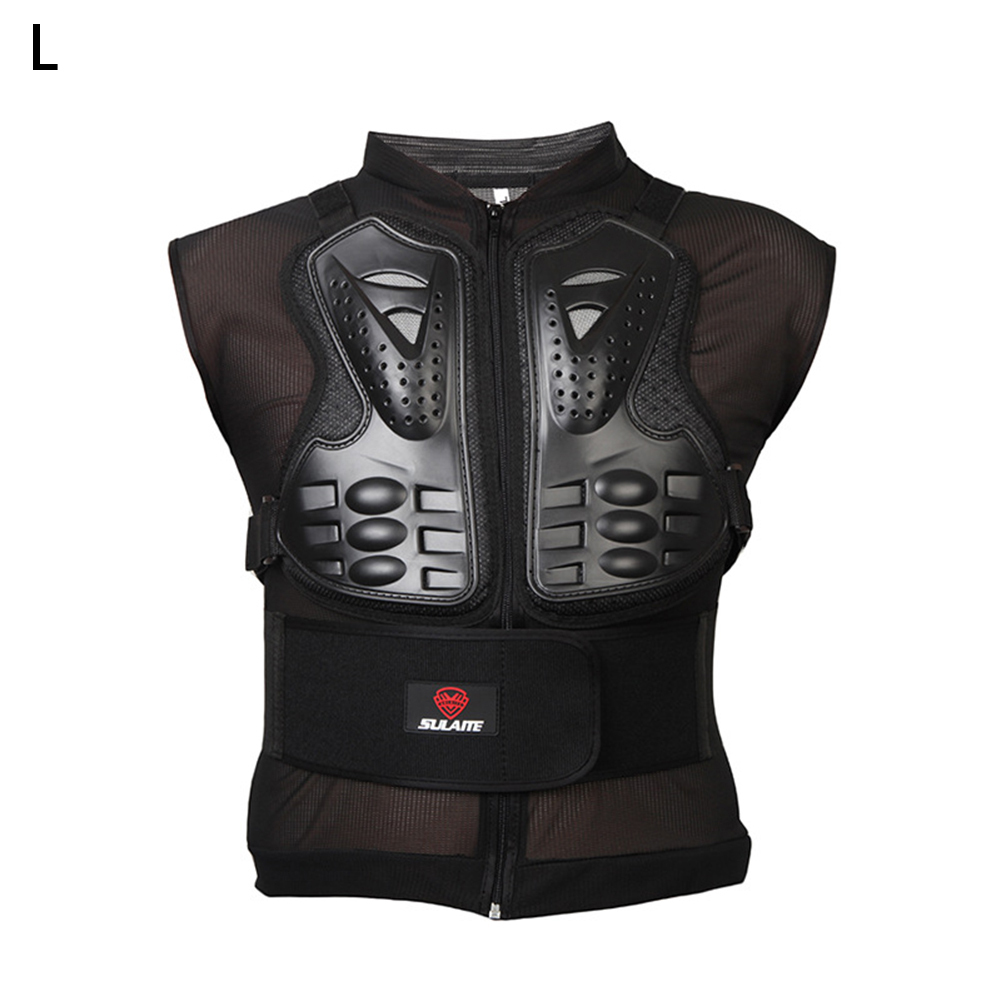 Motorcycle Sleeveless Armors Motocross Riding Knight Protector Off-road Riding Armor Vest Jacket Back Guard for Men M L XL XXLMotorcycle Sleeveless Armors Motocross Riding Knight Protector Off-road Riding Armor Vest Jacket Back Guard for Men M L XL XXL