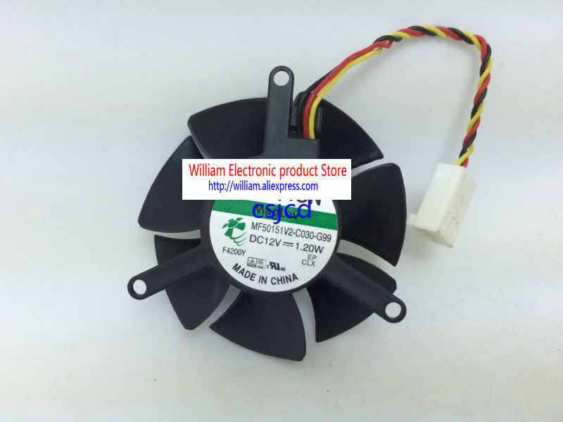 MAXROB Replacement CPU Fan for Dell XPS One 2710 CPU DFS802412RS0T