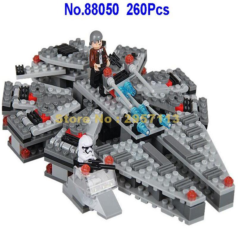 88050 260pcs Star Wars Millennium Falcon Building Block Compatible