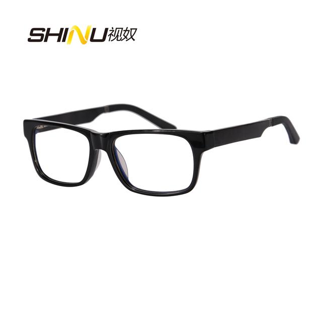 Top Fashion Preto Vidros Ópticos Enquadrar Simples Óculos Mulheres Homens Óculos Frames Oculos de grau Prescrição Espetáculo Quadro
