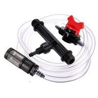 3 4 Thread Irrigation Venturi Fertilizer Injectors Device Irrigation Garden Water Tube Pipe With Flow Control