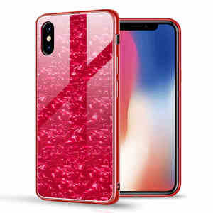 Image 2 - Suntaiho Étuis de Téléphone pour iPhone X 10 Boîtier En Verre Trempé Marbel Couverture Arrière pour iPhone 8 7 6 Plus Étui antidétonantes Étui Ajusté
