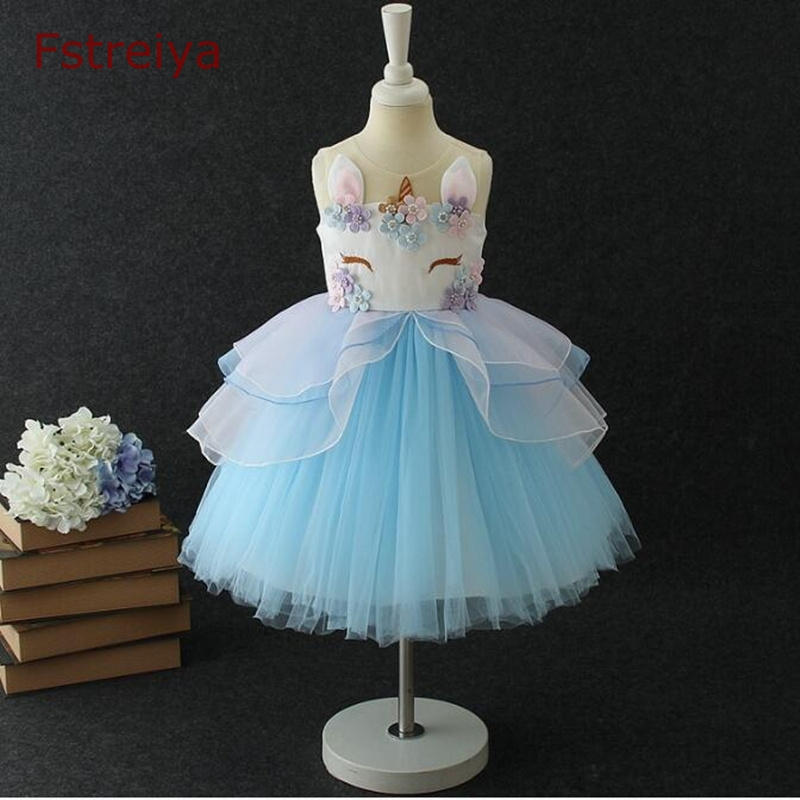 Baby girls Cartoon party princess dress toddler girls summer floral dress princess 2018 kids rabbite Ball Gown dresses costume casual kids baby girls white lace floral long sleeves dress princess party dress ball gown dresses clothes