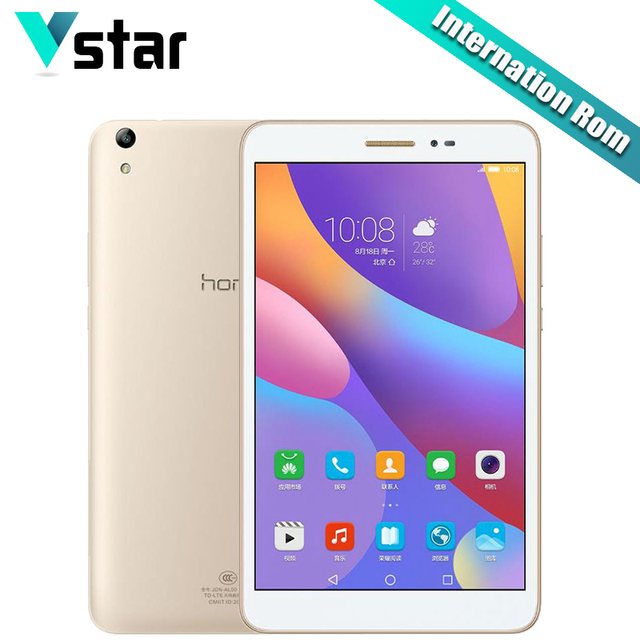 """Международный Huawei Honor Планшеты 2 8.0 """"3 ГБ 16/32 ГБ Восьмиядерный Планшеты PC Snapdragon MSM8939 Android 6.0 8.0MP Камера OTG GPS N"""