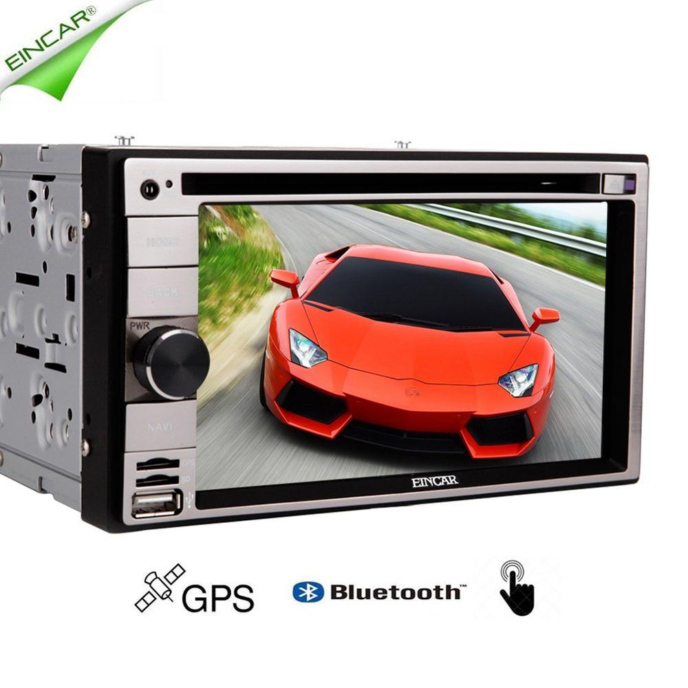 Universal Car Double Din in Dash GPS Navigation Touch Screen 2DIN Car DVD Player Bluetooth USB SD fm/am Radio Car Deck Stereo