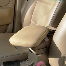 Pu Leather Soft Memory Foam Auto Armsteun Box Kussen Arm Ondersteuning Rest Universele Auto Seat Center Armsteun Extender Verhoog Pad