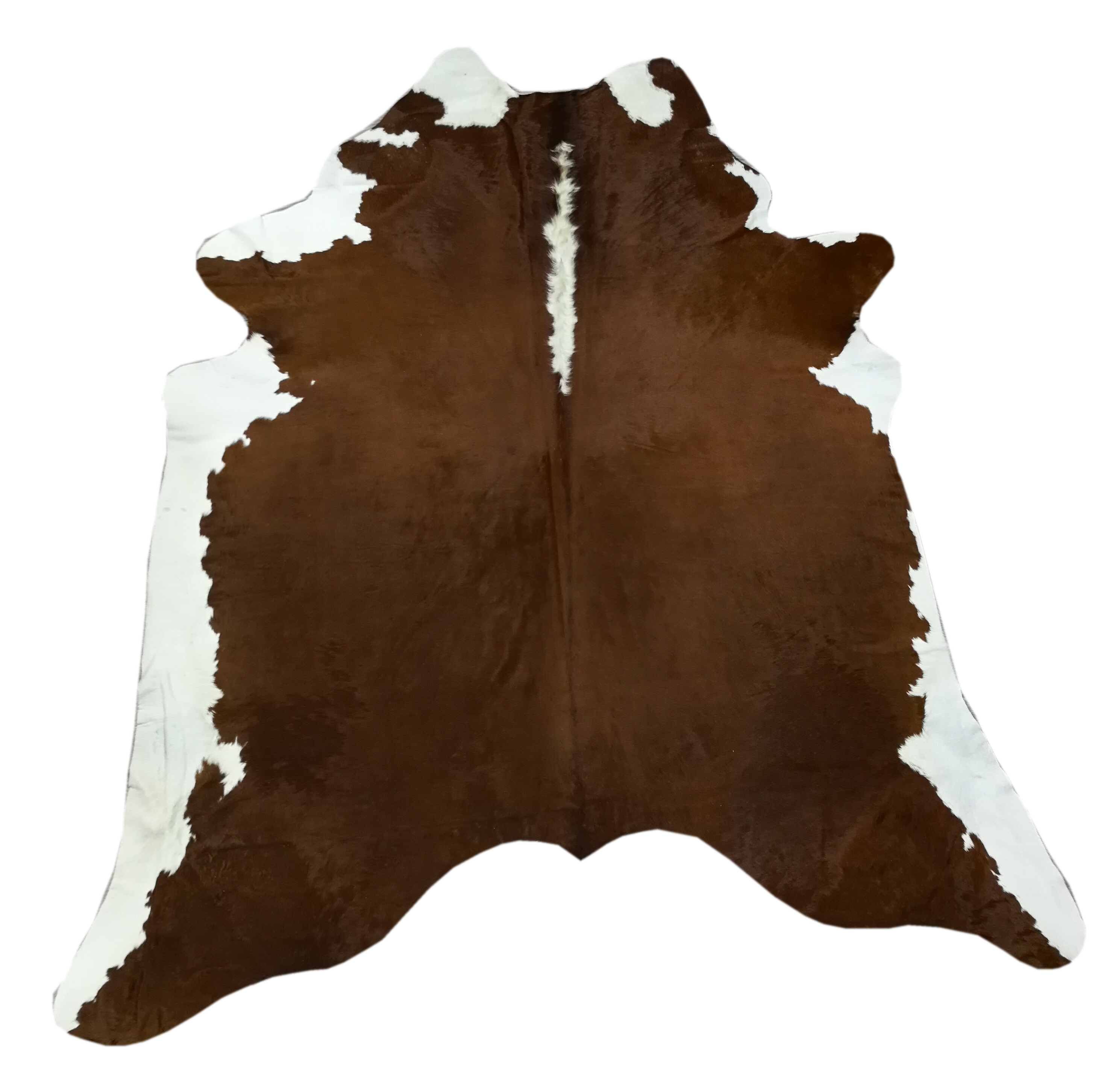 Zerimar Natural Cowhide Area Rug | Area Rugs For Living Room | Bedroom Area Rug | Natural Carpet | Cow Carpet