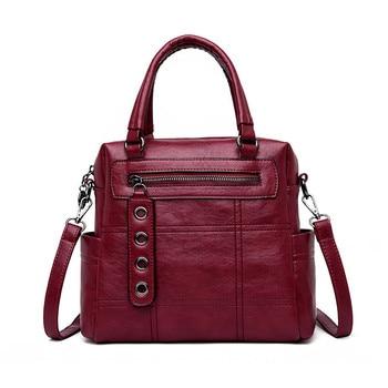 para mochilas de 1 en PU moda calidad 3 de cuero alta mujer mochila nWXzWUZ7