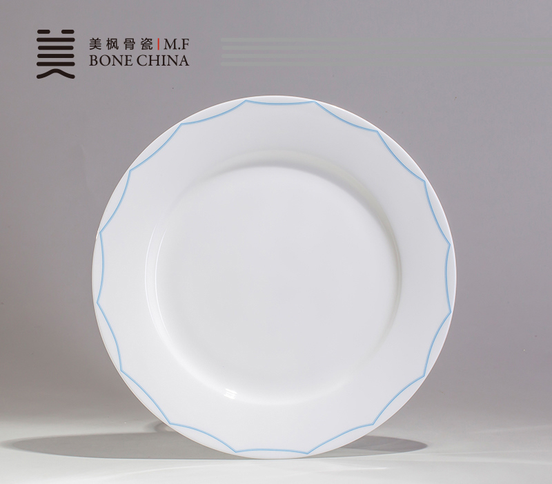 Aliexpress Com Buy 8 Inch Real Bone China Dinner Plates