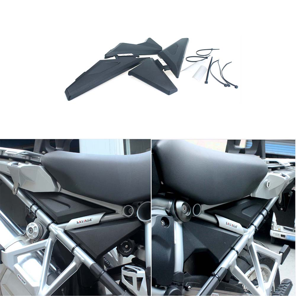 For BMW R1200 GSA LC R 1200 GS 2013 2014 2015 2016 R 1200GS Motorcycle Upper Frame Cover Infill Side Panel Set Guard Protector frame panel guard protector cover cap for bmw r 1200 gs 1200gs r1200gs lc adventure adv 2013 2016 13 14 15 16 motorcycle