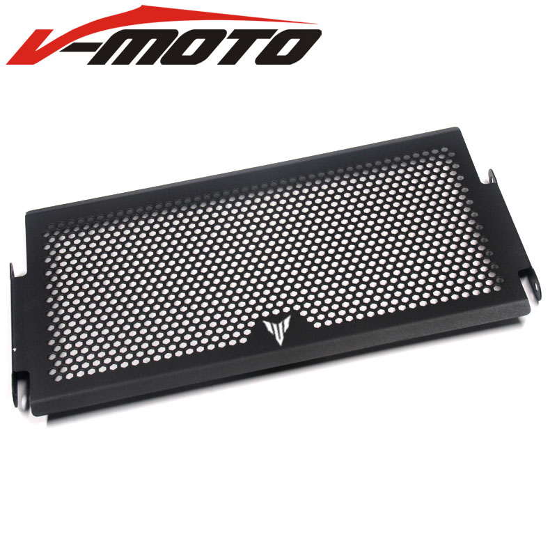 Motorcycle Radiator Side Guard Grill Grille Cover Protector For Yamaha MT07 MT-07 Mt 07 2014 2015 2016 2017 2018 Black