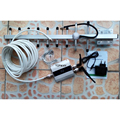 Mini GSM repetidor de sinal com 2 pcs antena interna, display LCD mobile phone signal booster + 13dbi yagi antenna cable