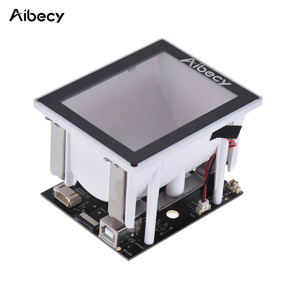 Aibecy 2D/QR/1D Embedded Scanner Module Bar Code Scanner Scan Engine 960 * 680 COMS with USB Cable Interface for supermarket free shipping pda barcode scanner module high sensitive 1d scan engine with ttl232 interface